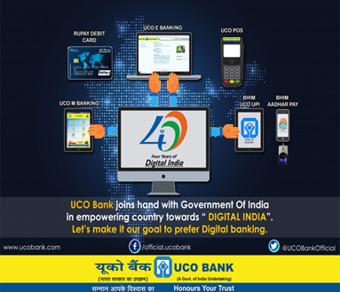 UCO Bank, Global Indian Bank for Personal, Corporate, Rural Banking