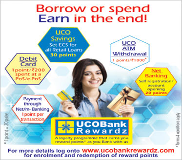 UCO Bank, Global Indian Bank for Personal, Corporate, Rural